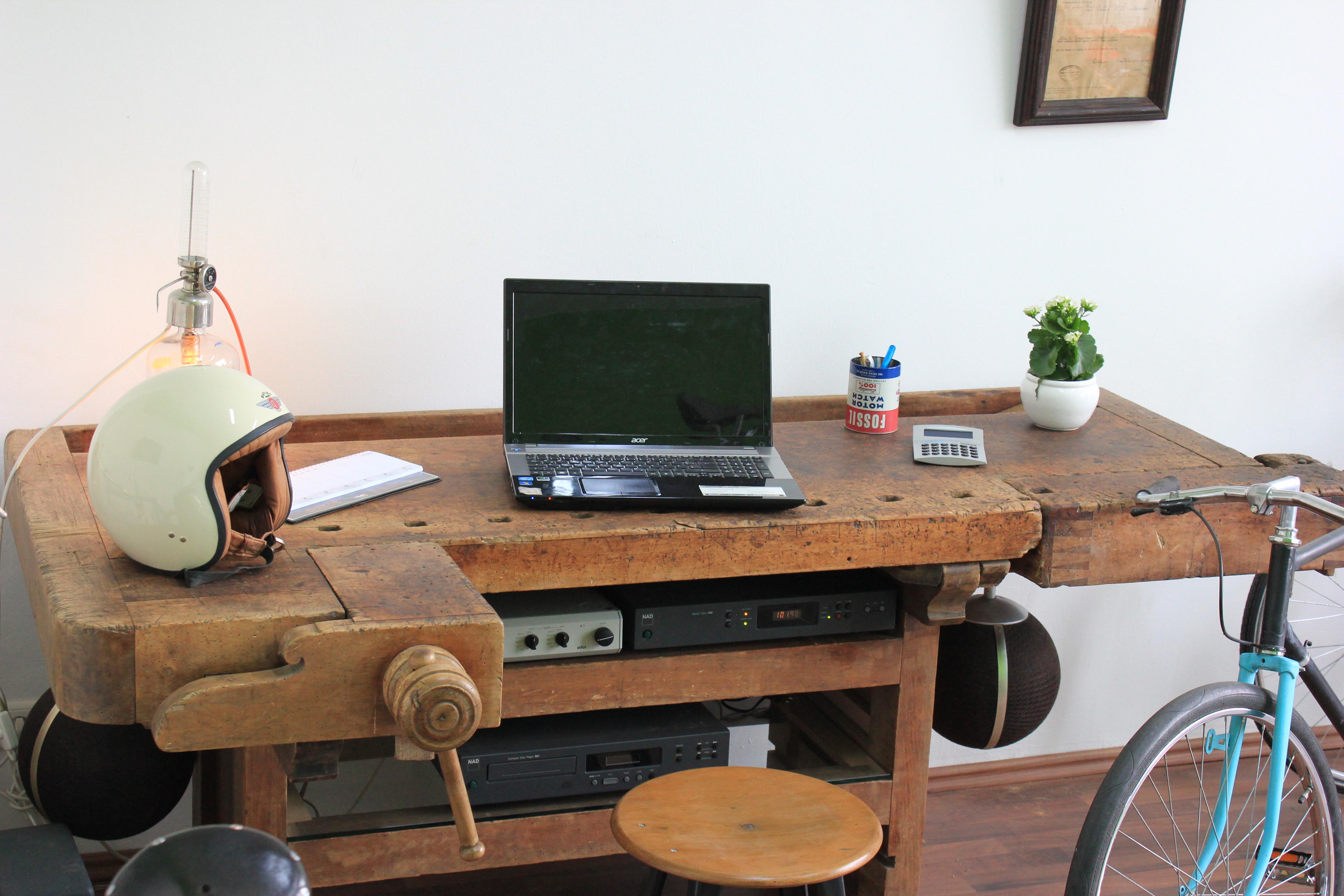 Hobelbank Schreibtisch